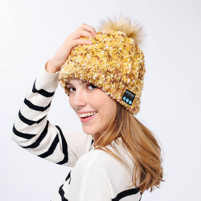 Bluetooth Knitted Music Hat