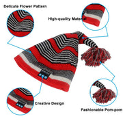 Stripe Bluetooth Beanie