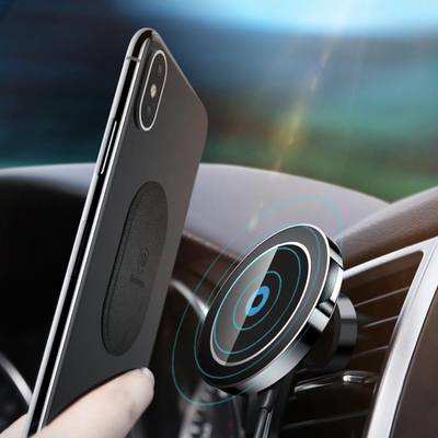 Magnetic Car Charger For iPhone/Samsung/Huawei