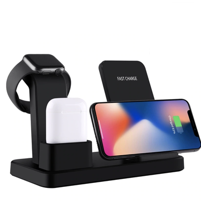 Wireless Charger For Apple iPhone, Apple Watch & AirPods