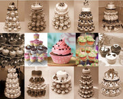 5 Tier Round Cake Tower - Nextelect