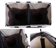 Foldable Double Laundry Basket - Nextelect