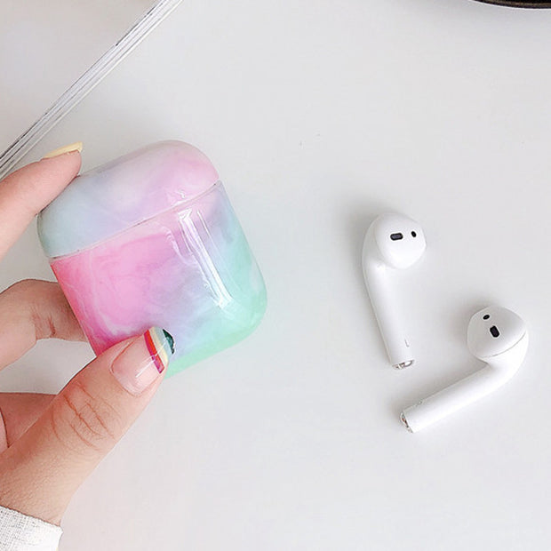 Marble Protective Cover AirPods Case
