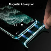 Magnetic Adsorption No Edge Design Phone Case For iPhone