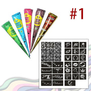 Natural Herbal Temporary Tattoo Kit - Nextelect