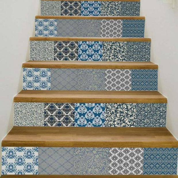 3D Steps Wall Stickers-17 Patterns - Nextelect