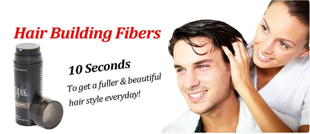 9 Colors Fibers For Hair Treatment - Nextelect