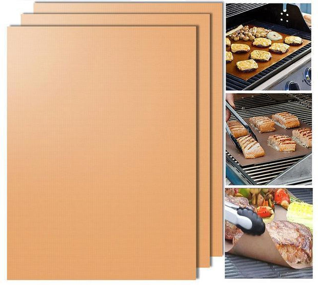 Grillina - Instant Reusable Grill Mat (3pcs Set) - Nextelect