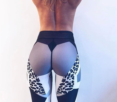 Sexy Leopard Workout Leggings