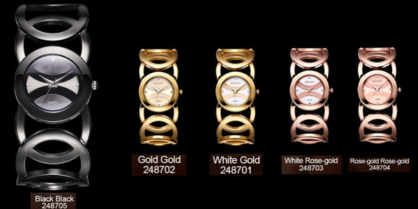 Luxury Golden Circle Band Watch - Free Shipping