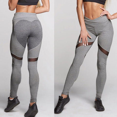 Heart Butt Exercise/Yoga Leggings