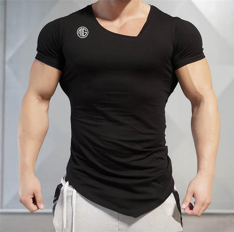 V-neck Muscle Guys Shirt