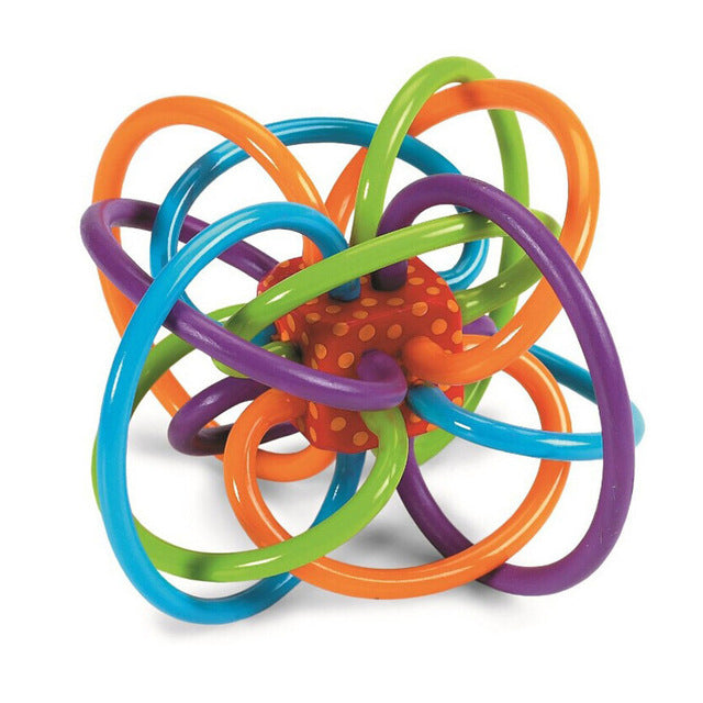 Teething Rattle Toy. Develops Baby Intelligence