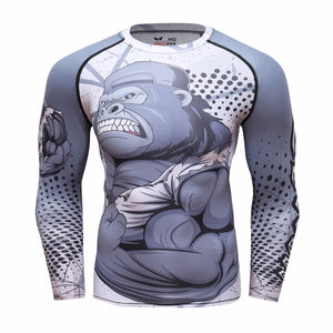 Punisher 3D High-Quality Compression Shirt