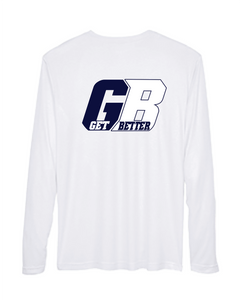 Long Sleeve GB Lapel Crew Neck Shirt
