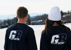 Navy Blue Get Better Print with GB Logo