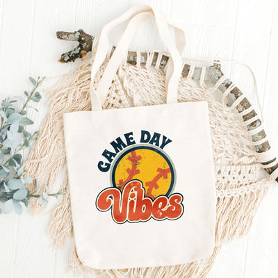 S - Game Day Vibes (Softball) - Tote