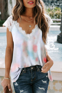 The Lucky in Lace Knit Top
