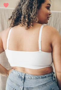 Criss Cross Bralette- Plus