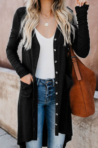 High Low Cardigan