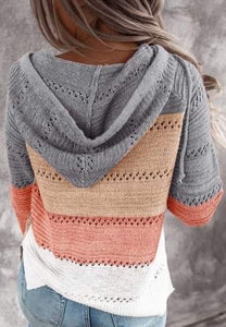 Summer Almost Fall Knit Pull Over Sweater