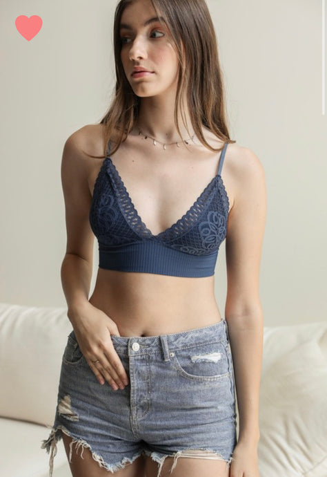 Loop Lace Bralette