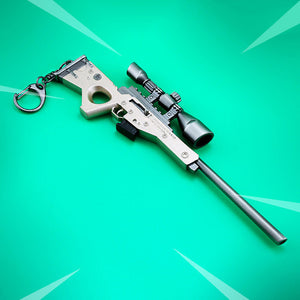 Fortnite AWM Metal Keychain