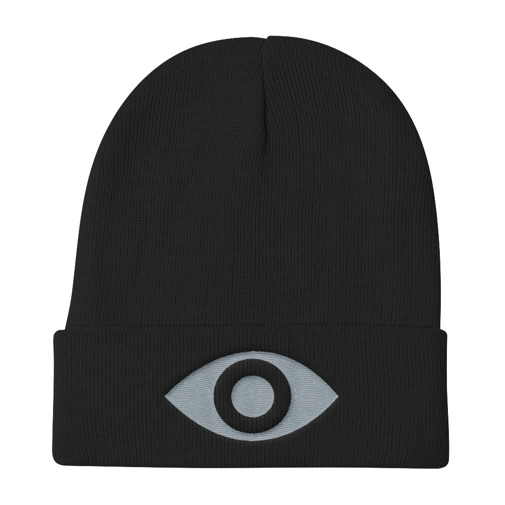 Awareness in Gray Knit Beanie - Mystical Voyager