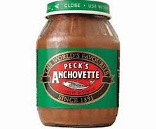 Pecks Anchovette Paste
