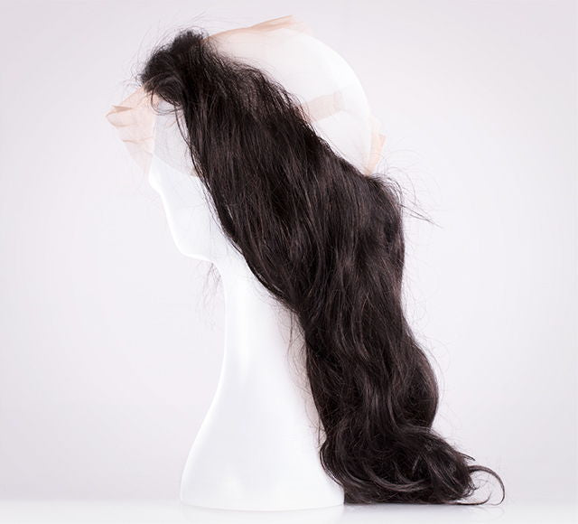 Virgin Malaysian Body Wave Lace 360 Frontal