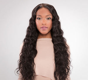 Virgin Brazilian Loose Wave Lace Front Wig - Posh Hair Bundles Collection