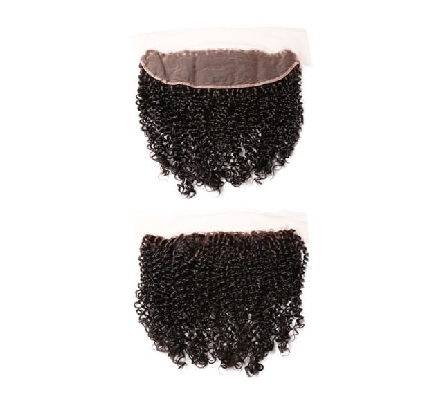 Virgin Brazilian Curly Lace Frontal