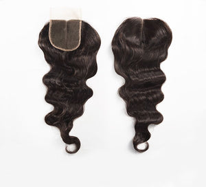 Peruvian Loose Wave Lace Closure - Posh Hair Bundles Collection