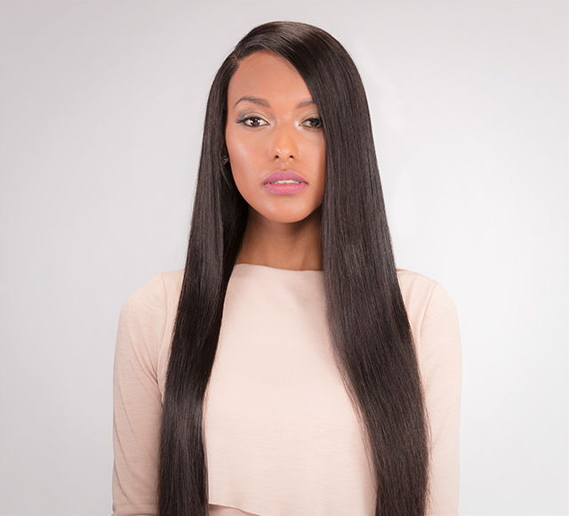 Virgin Brazilian Straight Lace Front Wig - Posh Hair Bundles Collection
