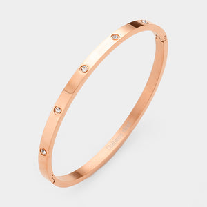 can't stop staring - thin rose gold