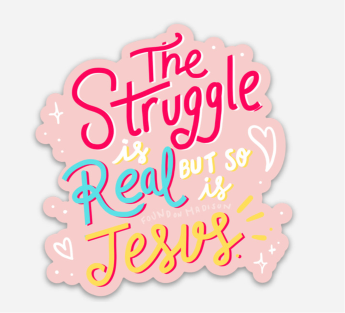but so is Jesus sticker