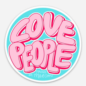 bubblegum graffiti love people sticker
