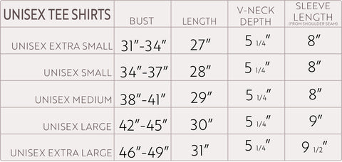 Fit Guide Measurement Size Charts Common Interest Clothing