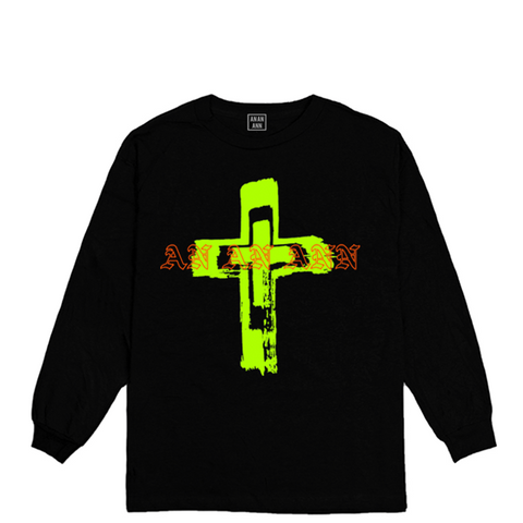 ANSWERS LONG SLEEVE BLACK