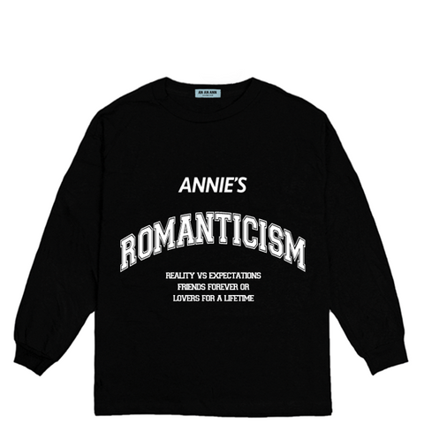 ROMANTICISM LONG SLEEVE BLACK