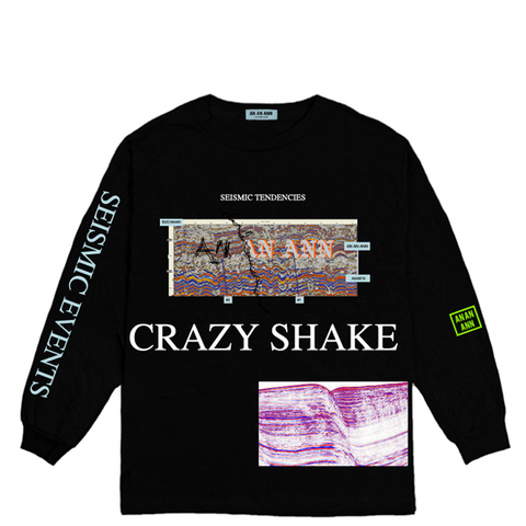 SEISMIC LONG SLEEVE BLACK