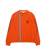 ORANGE TAPED SWEATSHIRT