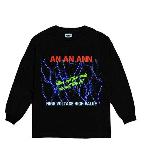 VOLTAGE LONG SLEEVE TOP
