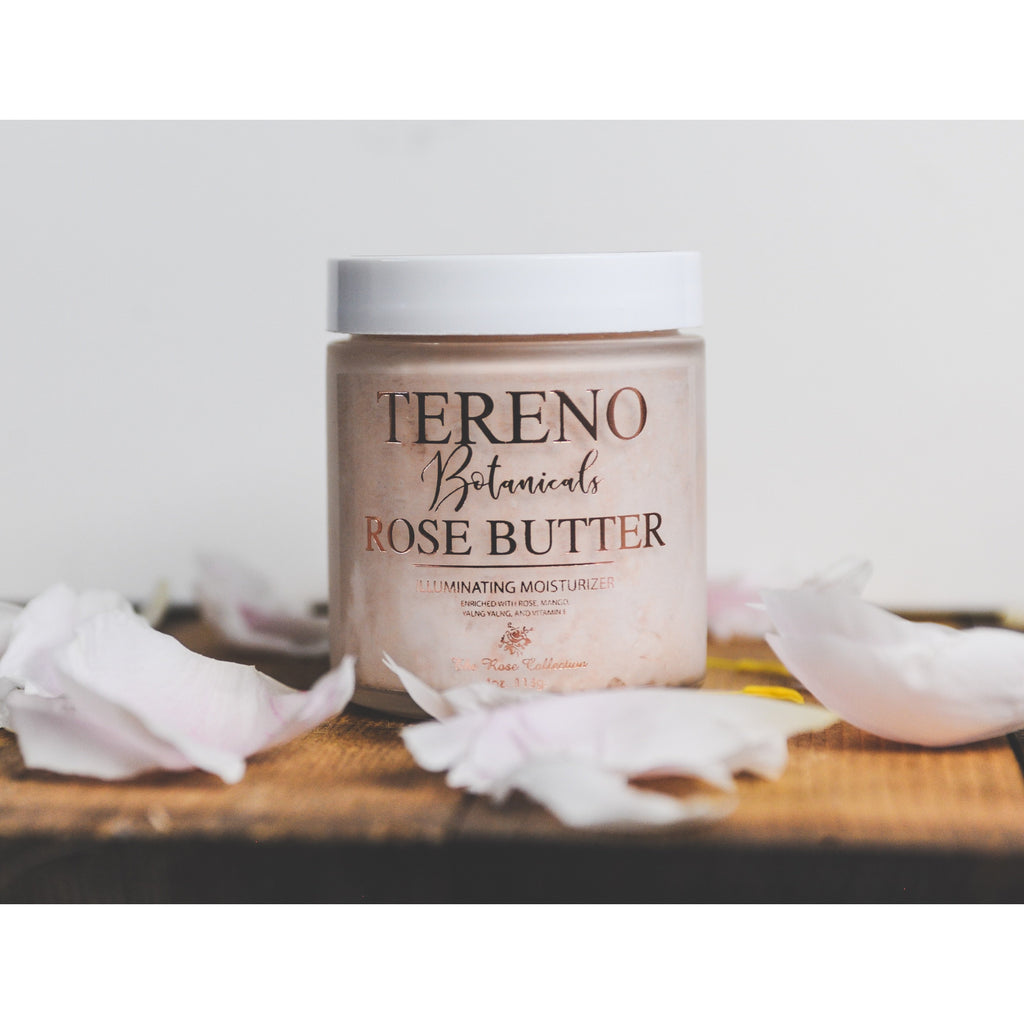 Rose Butter natural body product from Tereno Botanicals.