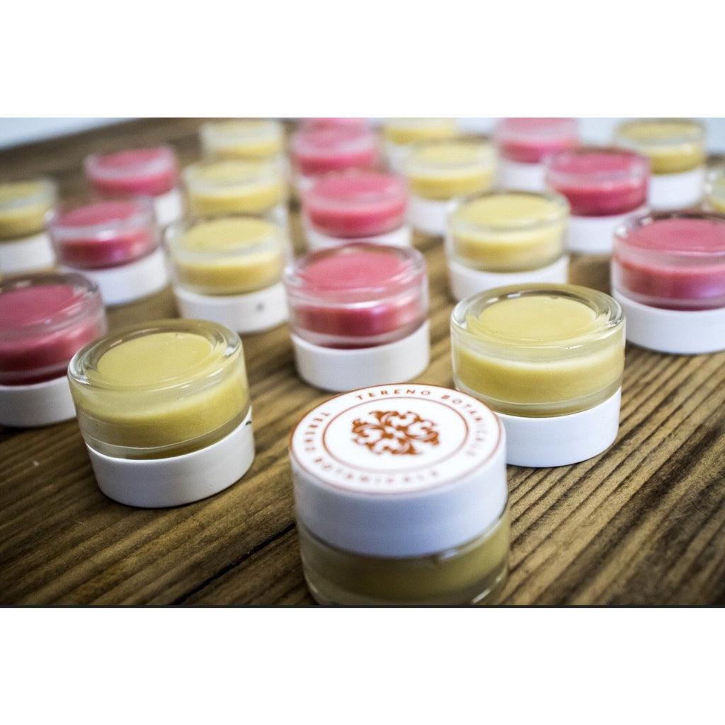 Rose Lip Balm: All-Natural Lip Balm Made With Sea Butter, Rose Essential Oil, And Vitamin E - Tereno Botanicals