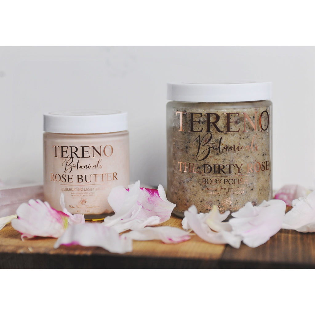 THE DIRTY ROSE BODY POLISH - Tereno Botanicals