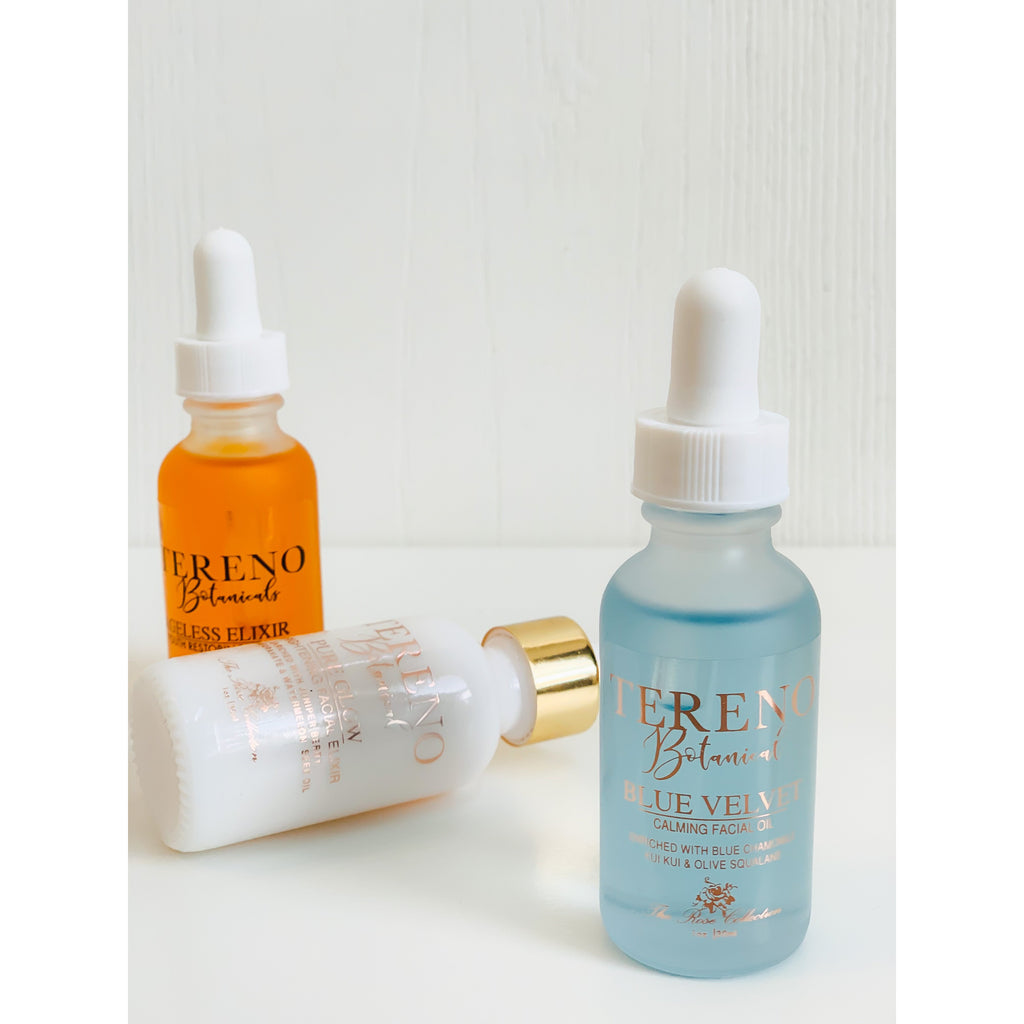 Large Facial Oil Trio - Tereno Botanicals