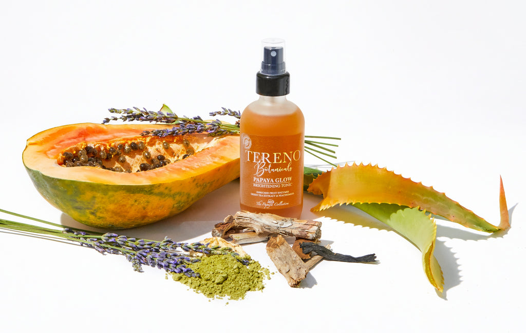 Papaya Glow Tonic – Natural Face Product - Tereno Botanicals