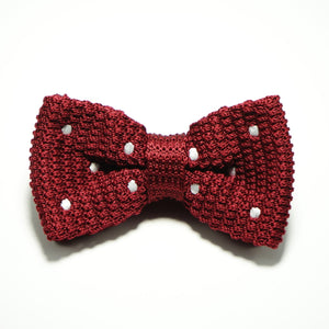 Poky Dot Bow Tie Red