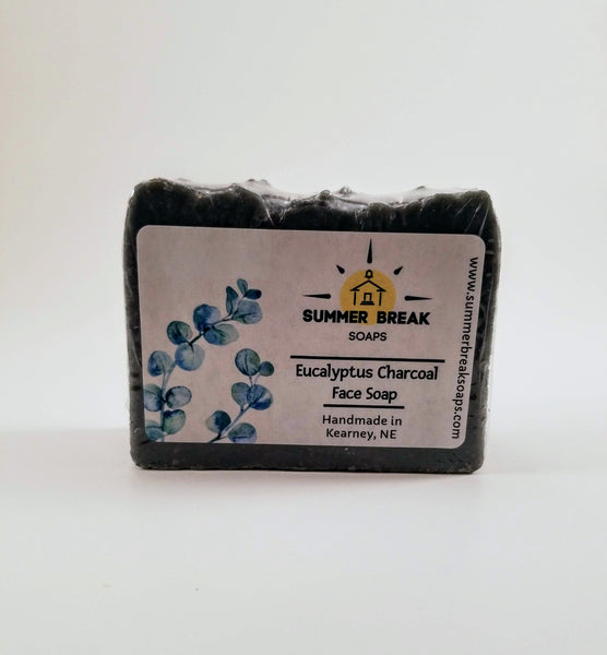 Eucalyptus Charcoal Face Soap